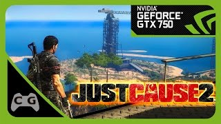 Just Cause 2 Gameplay GTX 750 Max Settings #14