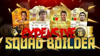 Fifa 16 Expensive Awesome 1.8 Million Coin Squad Builder Ultimate Team