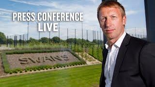 LIVE: Graham Potter's first Press Conference