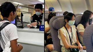 Taiwan Airport Offers Fake Flights