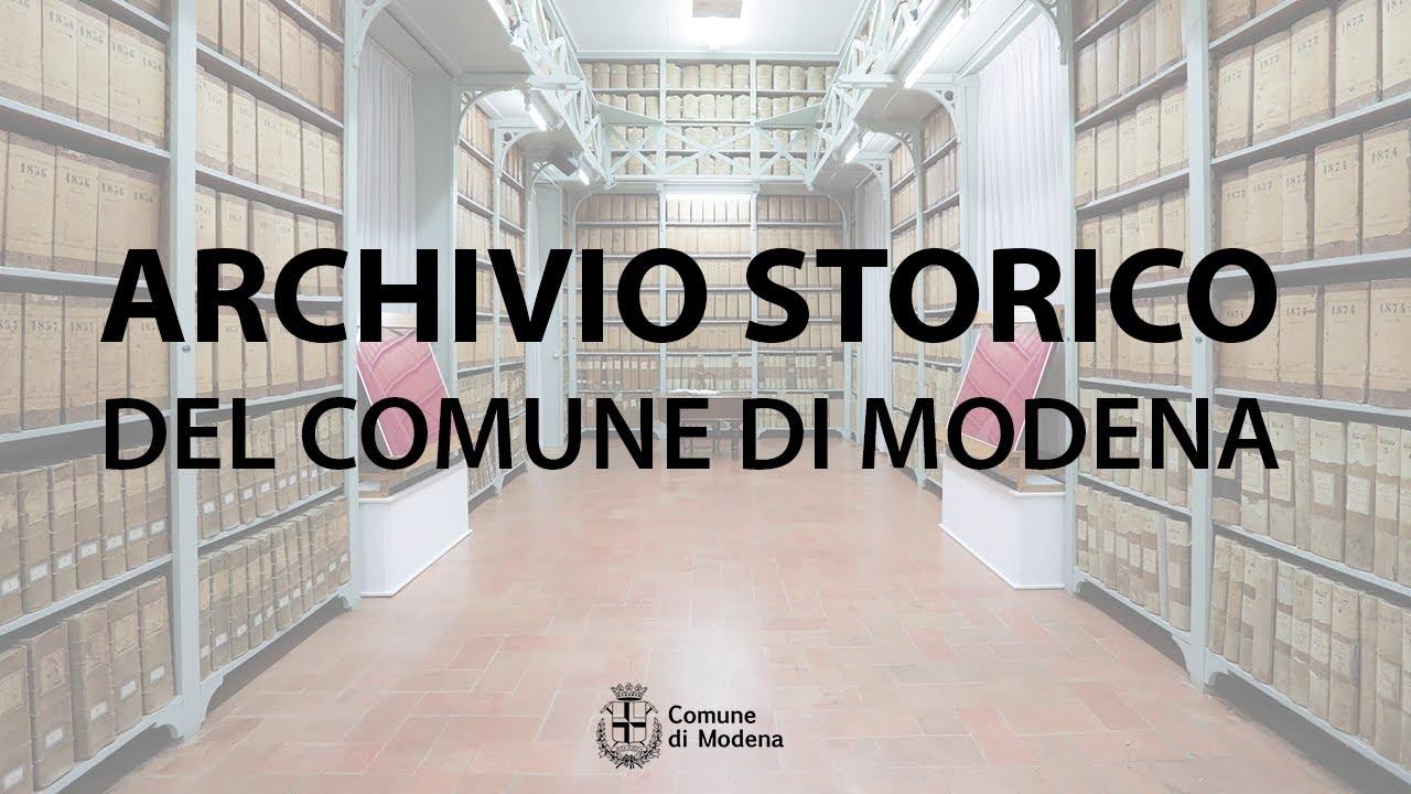 Download Archivio Storico del Comune di Modena