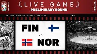 Finland - Norway | Live | Group B | 2021 IIHF Ice Hockey World Championship
