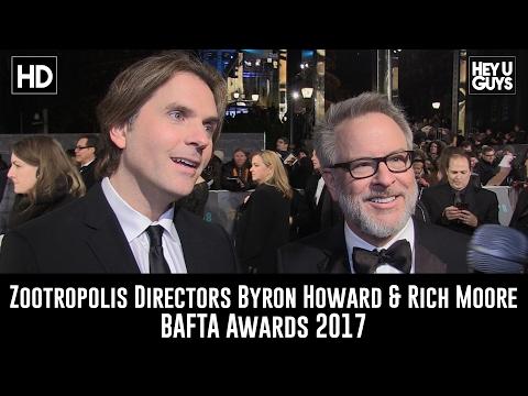 Zootropolis Directors Byron Howard & Rich Moore Interview - BAFTA 2017