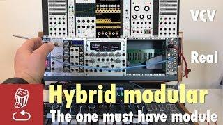 Hybrid modular - The one must-have module: bridging Eurorack and VCV Rack, Softube (ES-8 and MOTU)