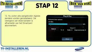 Samsung UE46C6700 TV Installeren - Samsung TV Installeren - Ci+ Installeren