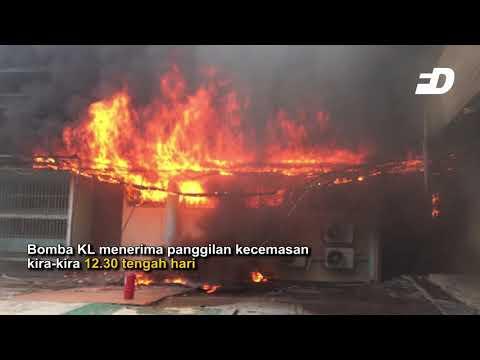Front Desk : Bangunan Forensik HKL terbakar