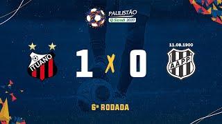 Ituano 1 x 0 Ponte Preta- 6ª rodada do Paulistão Sicredi 2020