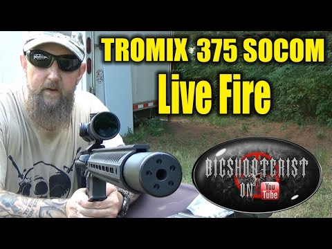 375 Socom Part 2 - Muzzle Energy and Sound Reduction