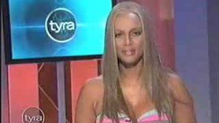 vuclip Tyra Banks: KISS MY FAT ASS. :]