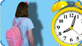Опоздала В Школу