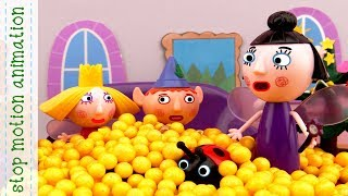 Ben & Holly's Little Kingdom toys Popcorn Stop Motion Animation new english episodes 2017 HD