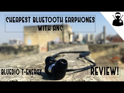 Bluedio T-Energy Review -The cheapest earphones with ANC!!!