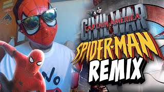 SPIDERMAN REMIX!! | Captain America: Civil War