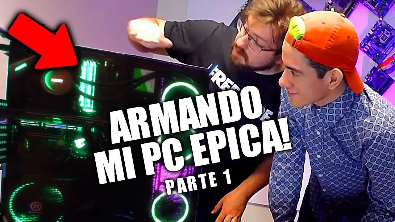 EL VIDEO QUE JAMAS SUBI A YOUTUBE ! ARMANDO MI PC GAMER *color verde* - Donato