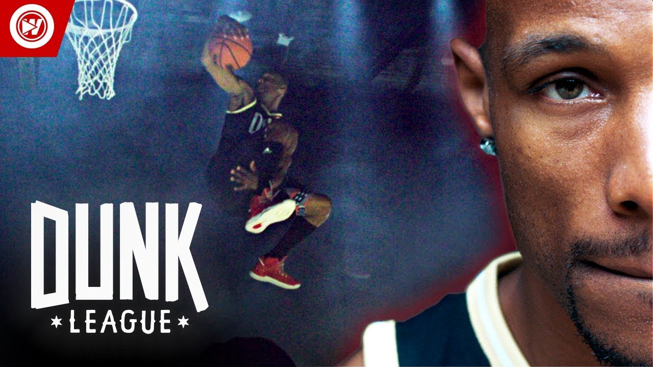 Dunk Contest In The DARK | $50,000 Dunk Competition image