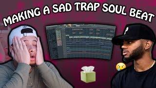 MAKING A TRAPSOUL BEAT FOR BRYSON TILLER & TORY LANEZ (FL Studio 20 How To Make A Sad Beat)