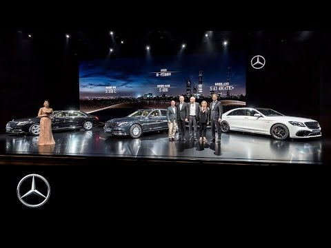 +++ LIVE +++ Mercedes-Benz Media Night #AutoShanghai 2017