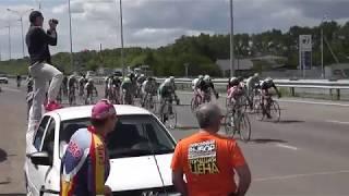 петропавловск велоспорт 2018 на приз А.Винокурова 80 км финиш(2 группа)