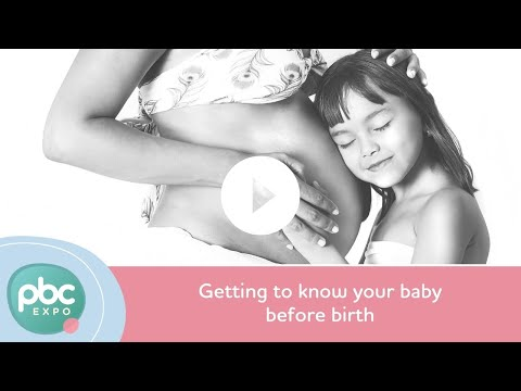 Getting to know your baby before birth