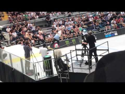 SLS Munich Nyjah Huston Street League Skateboarding