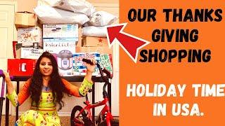 Thanks Giving Holiday 🌟 USA Shopping🛒 |  థాంక్స్  గివింగ్ షాపింగ్ 📦 తెలుగు లో | 💖telugu vlogs🥰