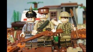 Первая Мировая Война - мультфильм, подготовка, обзор фигурок русских, немцев и британцев