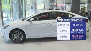 車 개소세 1.5%→3.5%…하반기부터 바뀌는 것 / 연합뉴스TV (YonhapnewsTV)