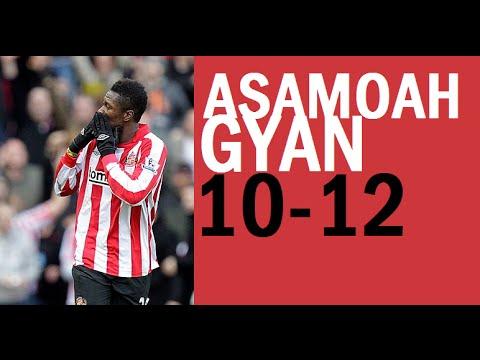 Asamoah Gyan - Sunderland Goals