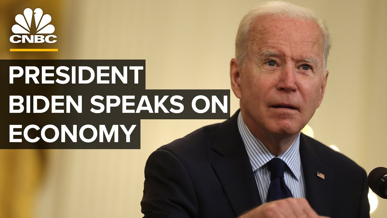 President Biden delivers remarks on the economy — 5/10/2021