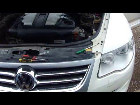 Volkswagen Touareg 1 как снять фары