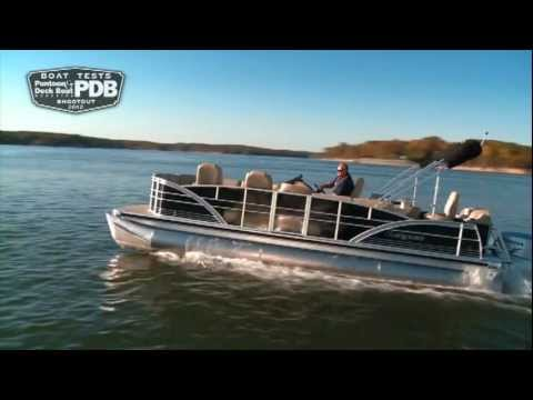 Pontoon and Deck Boat Reviews a Sanpan 2500
