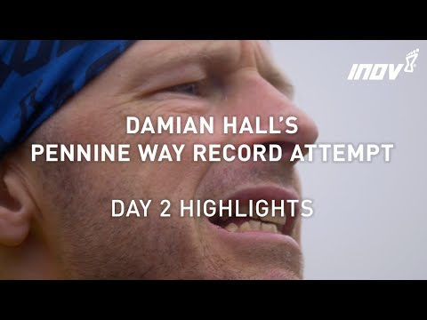 Day 2 highlights from Damian Hall's Pennine Way record attempt