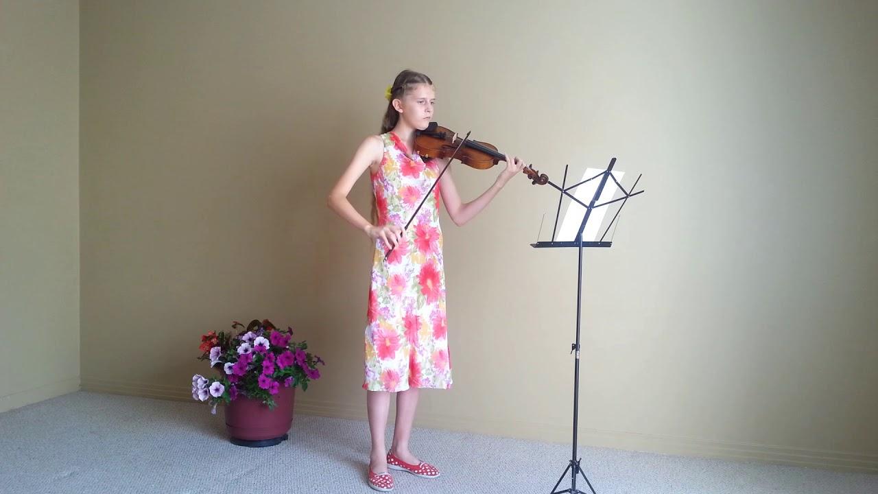 гречанинов весельчак ноты для скрипки