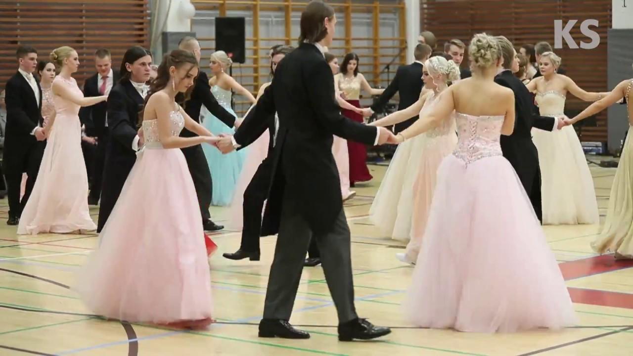 Kangasalan lukion vanhojen tanssit 2018