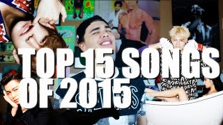 TOP 15 SONGS OF 2015