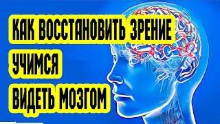 Как вернуть зрение. Учимся видеть мозгом (Восстановление Зрения.  Видим мозгом #1)