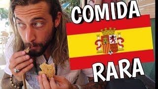 Probando comida RARA en ESPAÑA