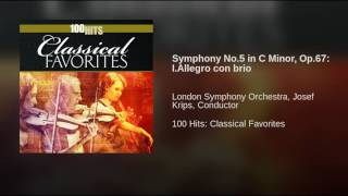 Symphony No 5 in C Minor Op 67 I