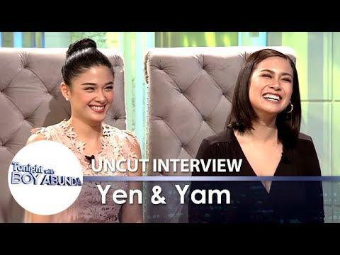TWBA Uncut Interview: Yen Santos & Yam Concepcion