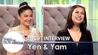 TWBA Uncut Interview: Yen Santos & Yam Concepcion