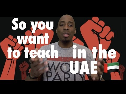Black In Dubai | Tips To Teach in the UAE pt. 1!