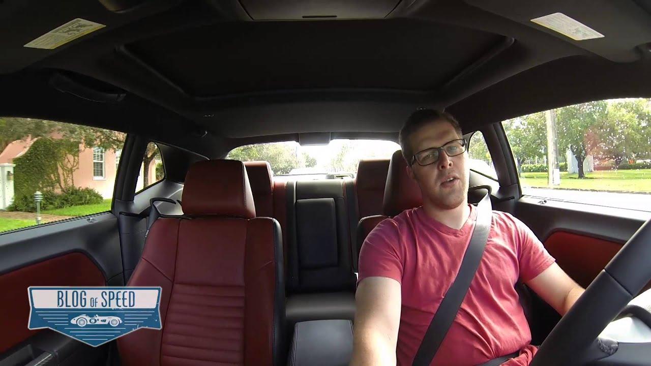 2013 dodge challenger rt redline road test review by blog of speed youtube - 2013 Dodge Challenger Rt Redline
