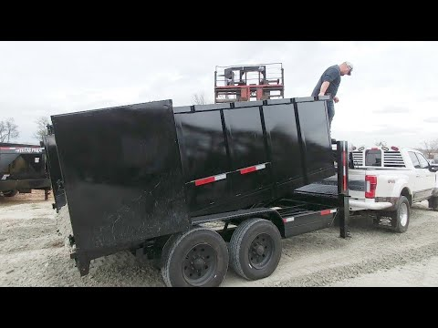 Son Wins Dad A Dump Trailer From Texas Pride Trailers!
