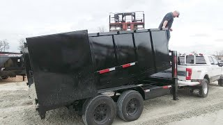 Son SURPRISES DAD Big-time! 1st Texas Pride Trailers Dump Trailer Winner!