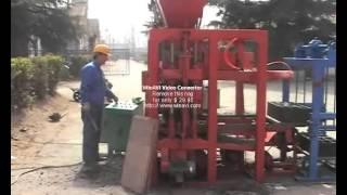 Вибропресс для производства шлакоблока QTJ4-26(ООО