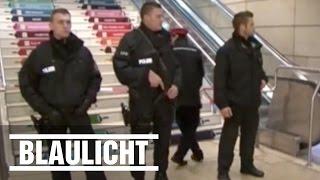 Hauptbahnhof Hannover nach Deutschland gegen Niederlande Spiel abgesperrt
