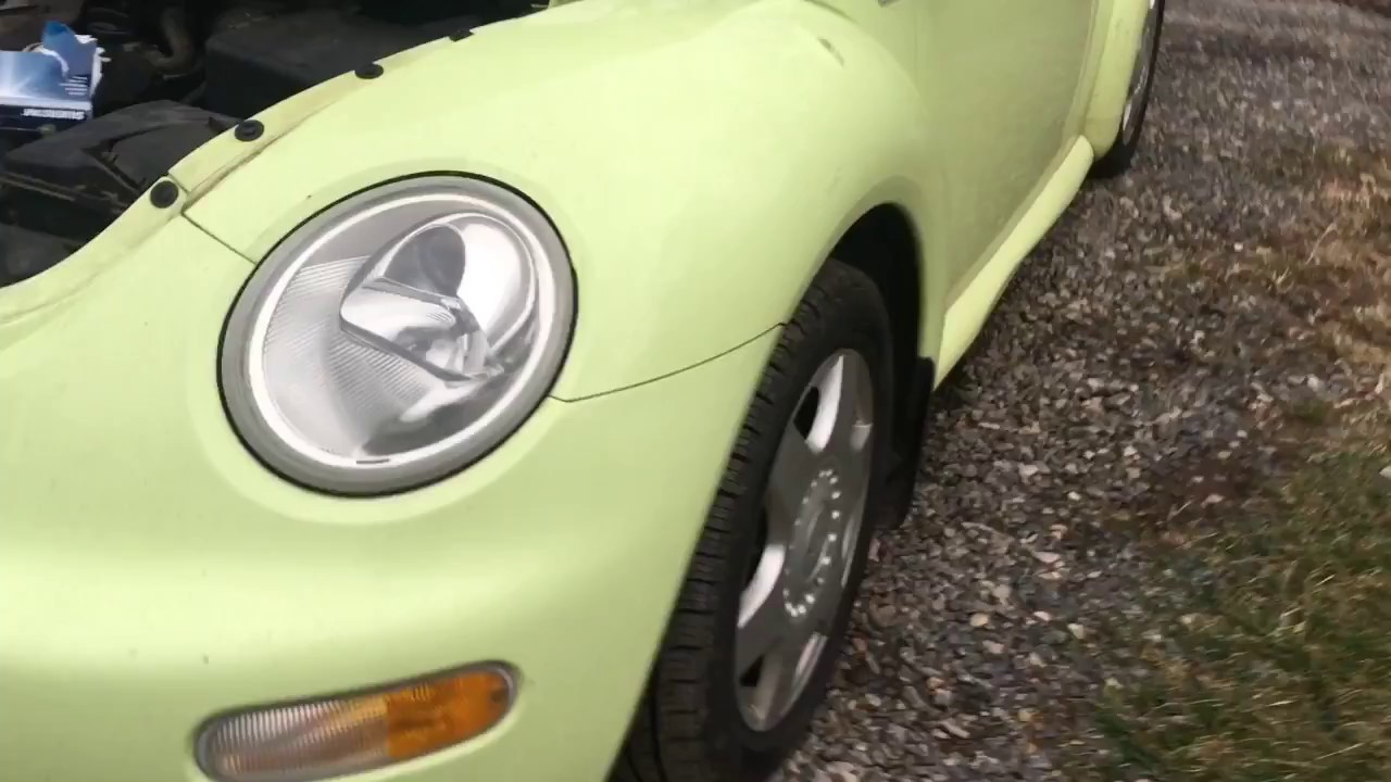 Volkswagen Beetle How To Replace Headlight 2001 Volkswagon