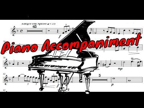 ♫♬ Hummel - Trumpet Concerto [Piano only] - I. Allegro con Spirito