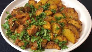 Картошка по деревенски в духовке с корочкой Картошка в духовке простой и вкусный рецепт