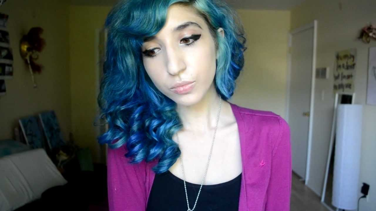 How To Dip Dye Hair Red Or Blue Or Green Or Tickle Me Pink